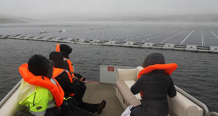 Alto Rabagão floating solar photovoltaic pilot project